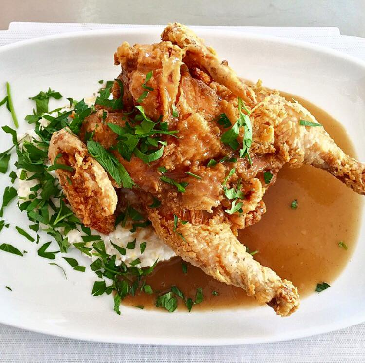 Mashama's Fried Chicken will be featured for Sunday Supper on September 17th (photo: The Grey)