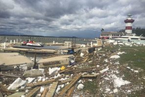 Harbourtown on Hilton Head Island has a long clean up ahead