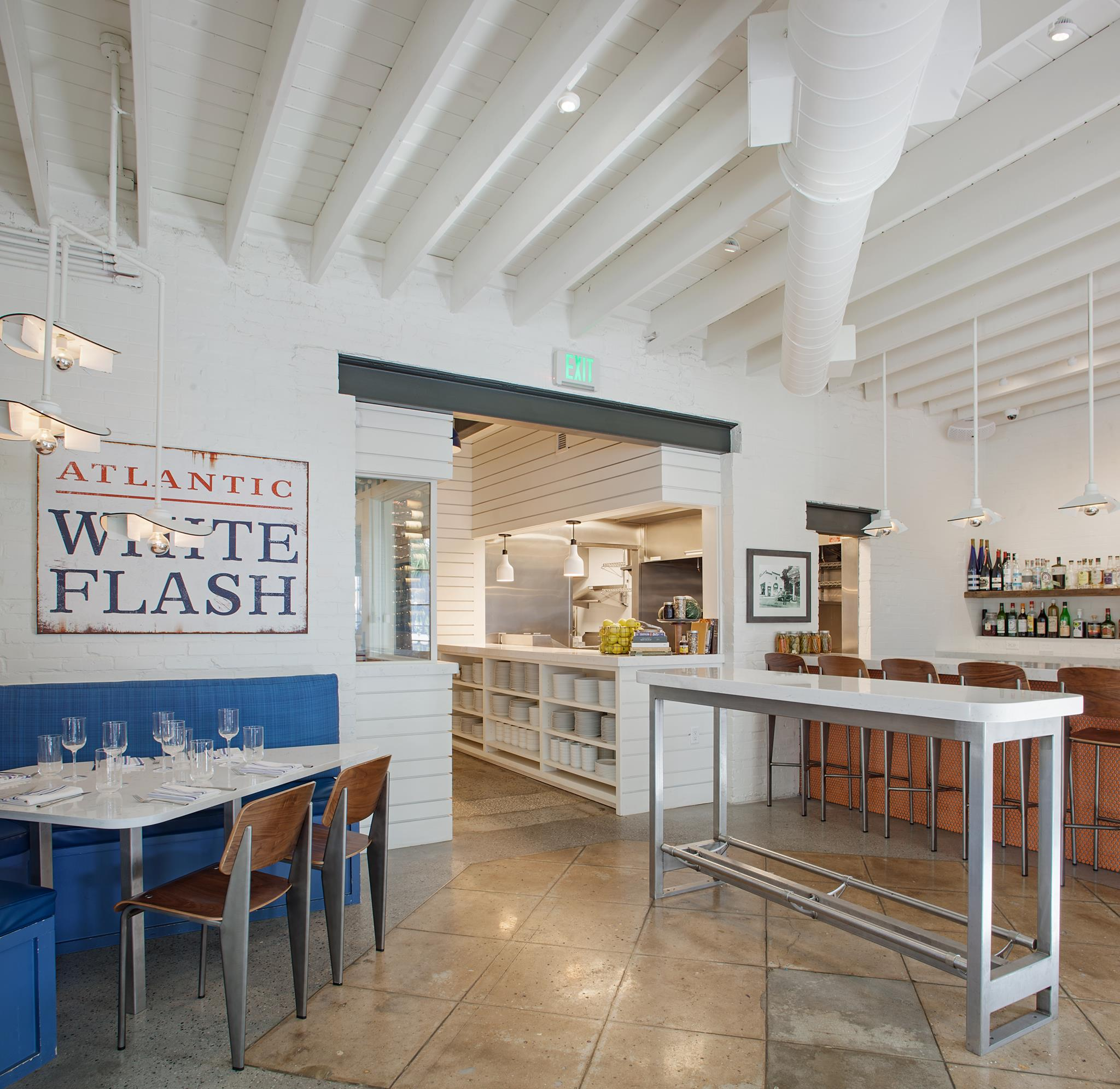 Atlantic - at Victory and Drayton in Savannah is a converted 1930's service station (photo courtesy Atlantic)