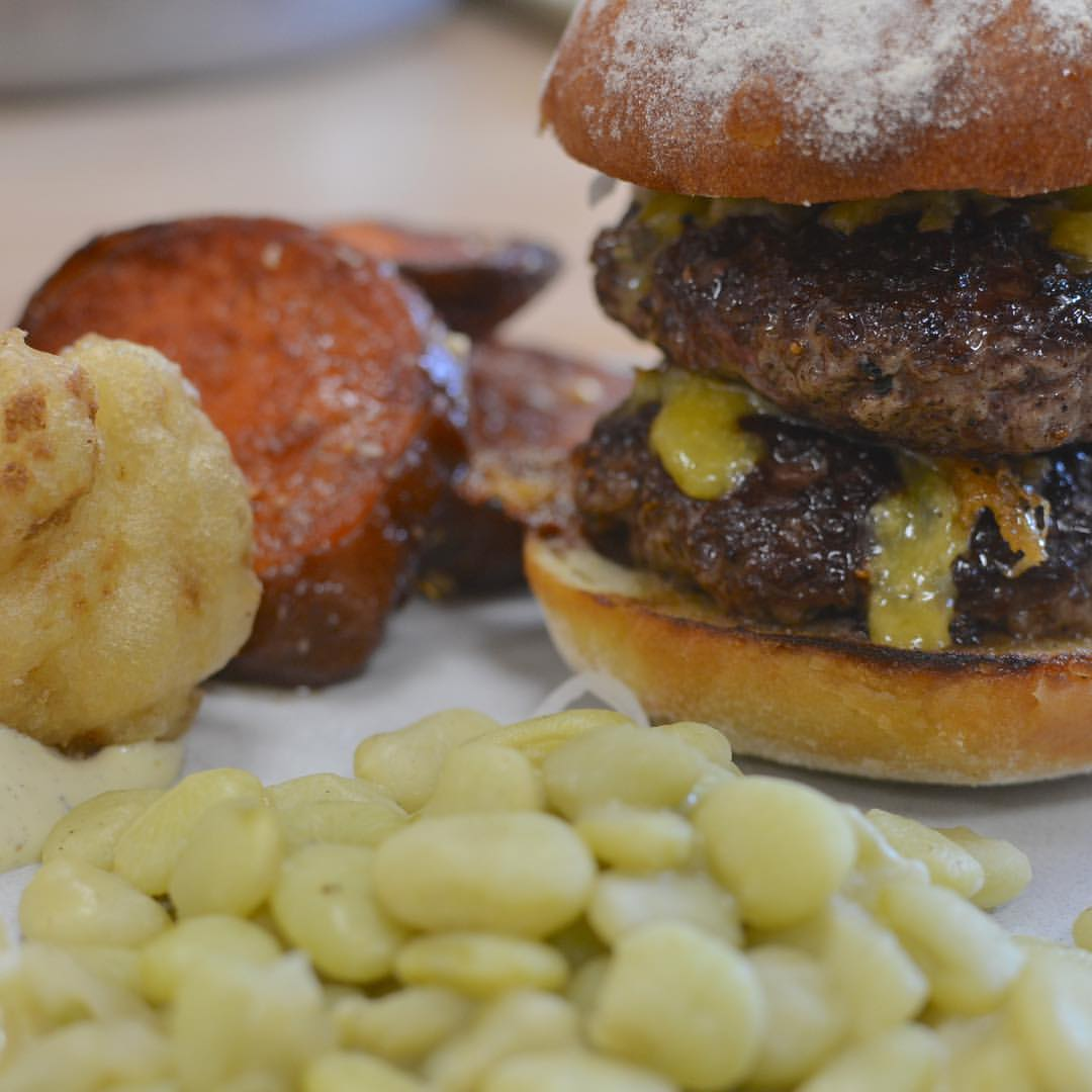 Burgers at Farm Bluffton are outstanding (Photo: Farm)