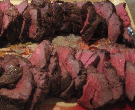 Beef Tenderloin Slices1