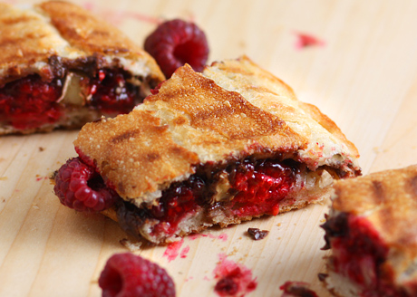 Raspberry Nutella PaniniEat It and Like It | Eat It and Like It