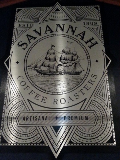 Savannah Coffee Roasters new branding. Same but different