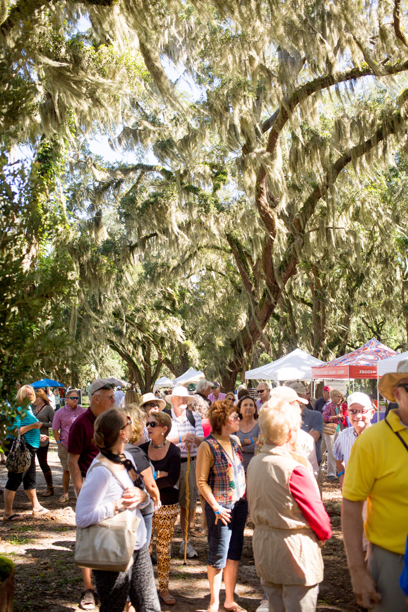 The St Simons Island Food and Spirits Festival is one of the Golden Isles best events