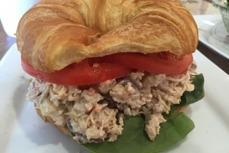 Chicken Salad Sandwich at All Things Chocolate and More