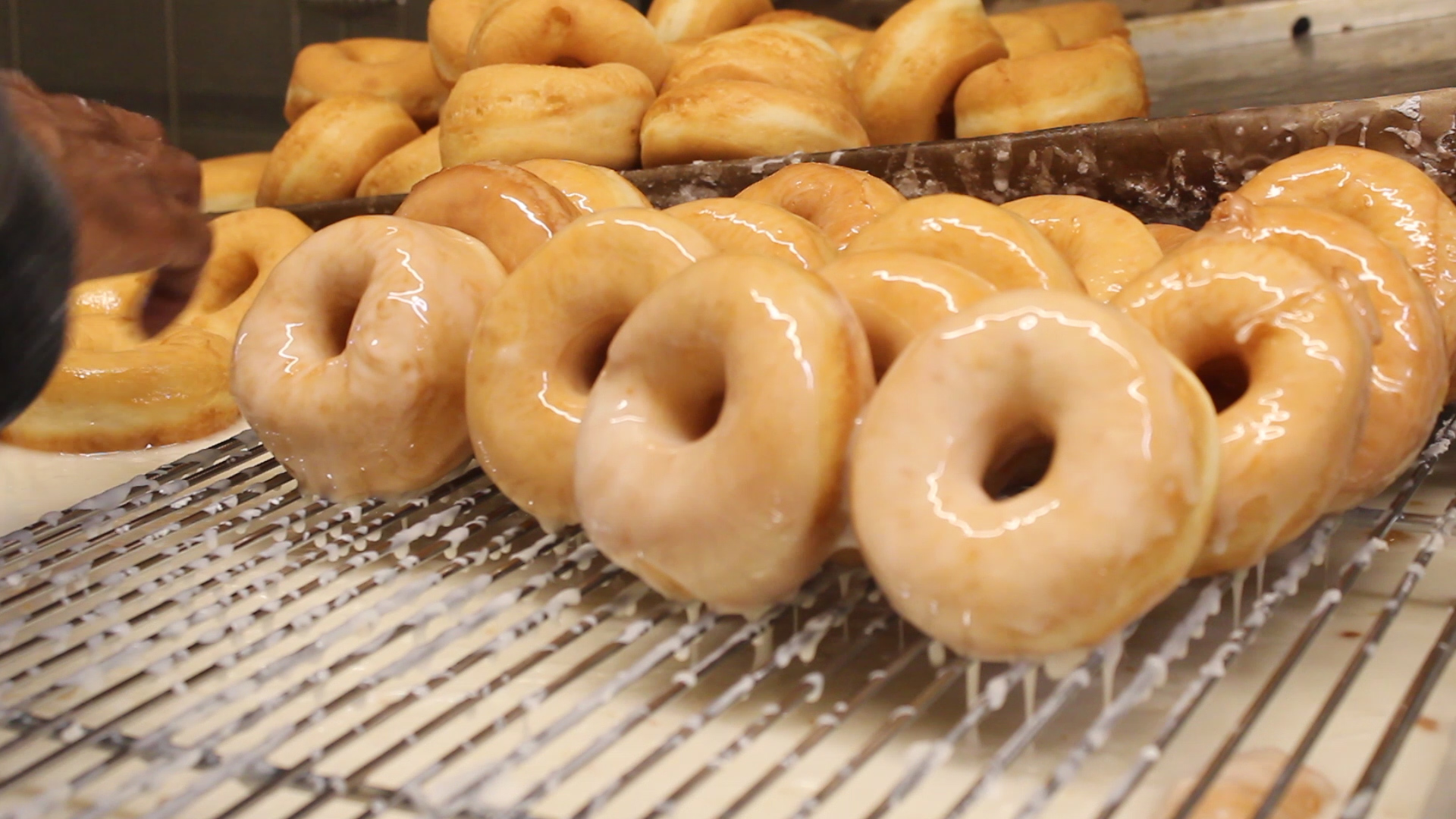 Baker's Pride donuts are made overnight every night beginning at midnight