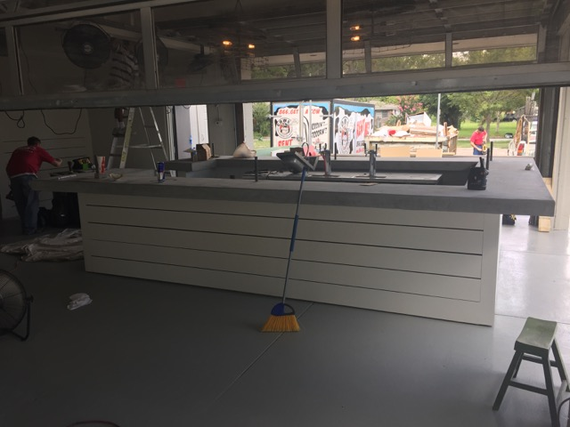 A brand new bar will be the centerpiece at the newly re-done Blowin' Smoke Cantina
