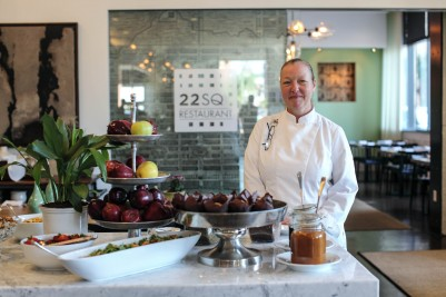 "Chef Lauren Teague and ""Savannah's Farm to Fork Restaurant"""