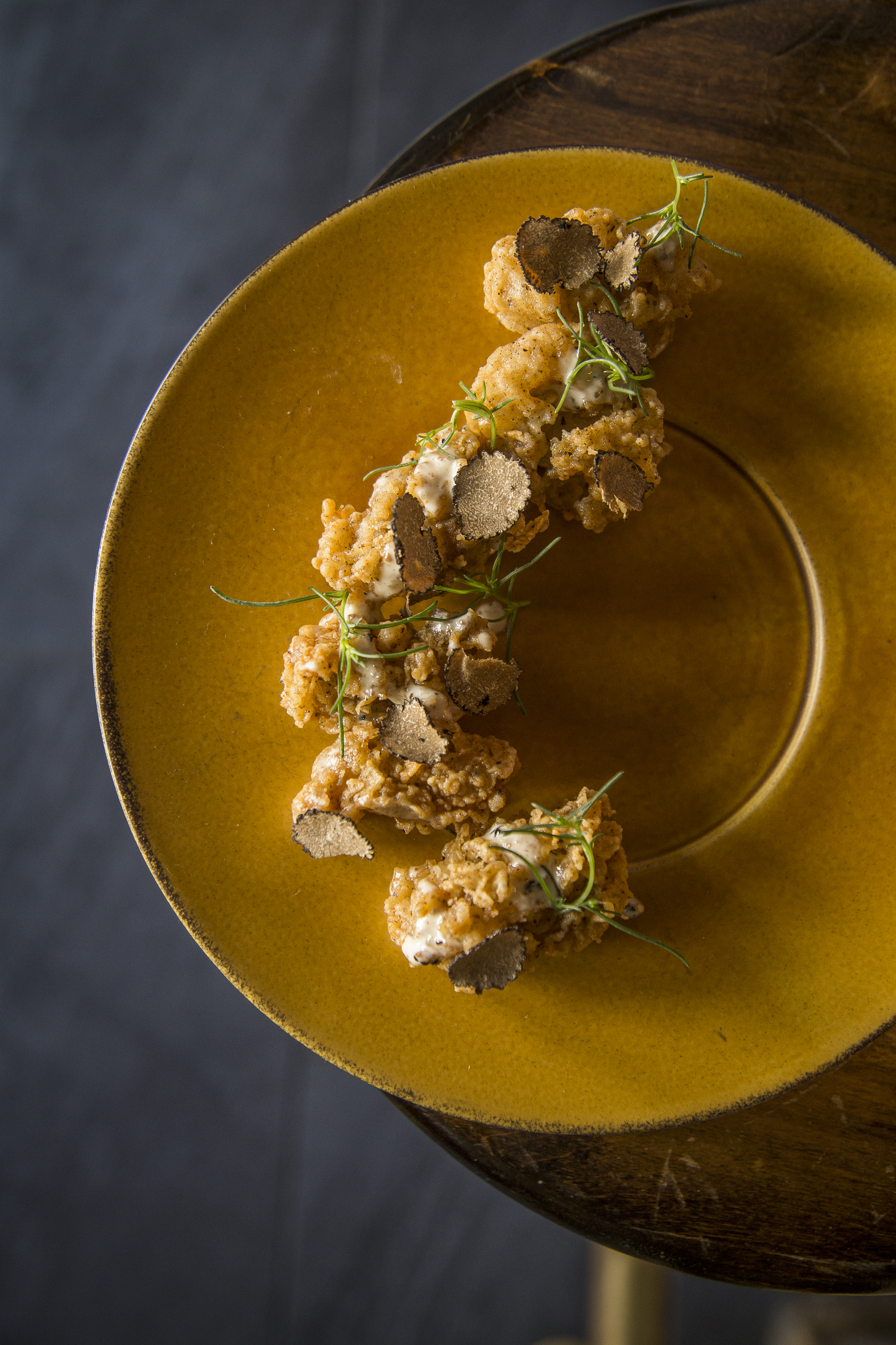 Fried Oysters at Prohibition Charleston