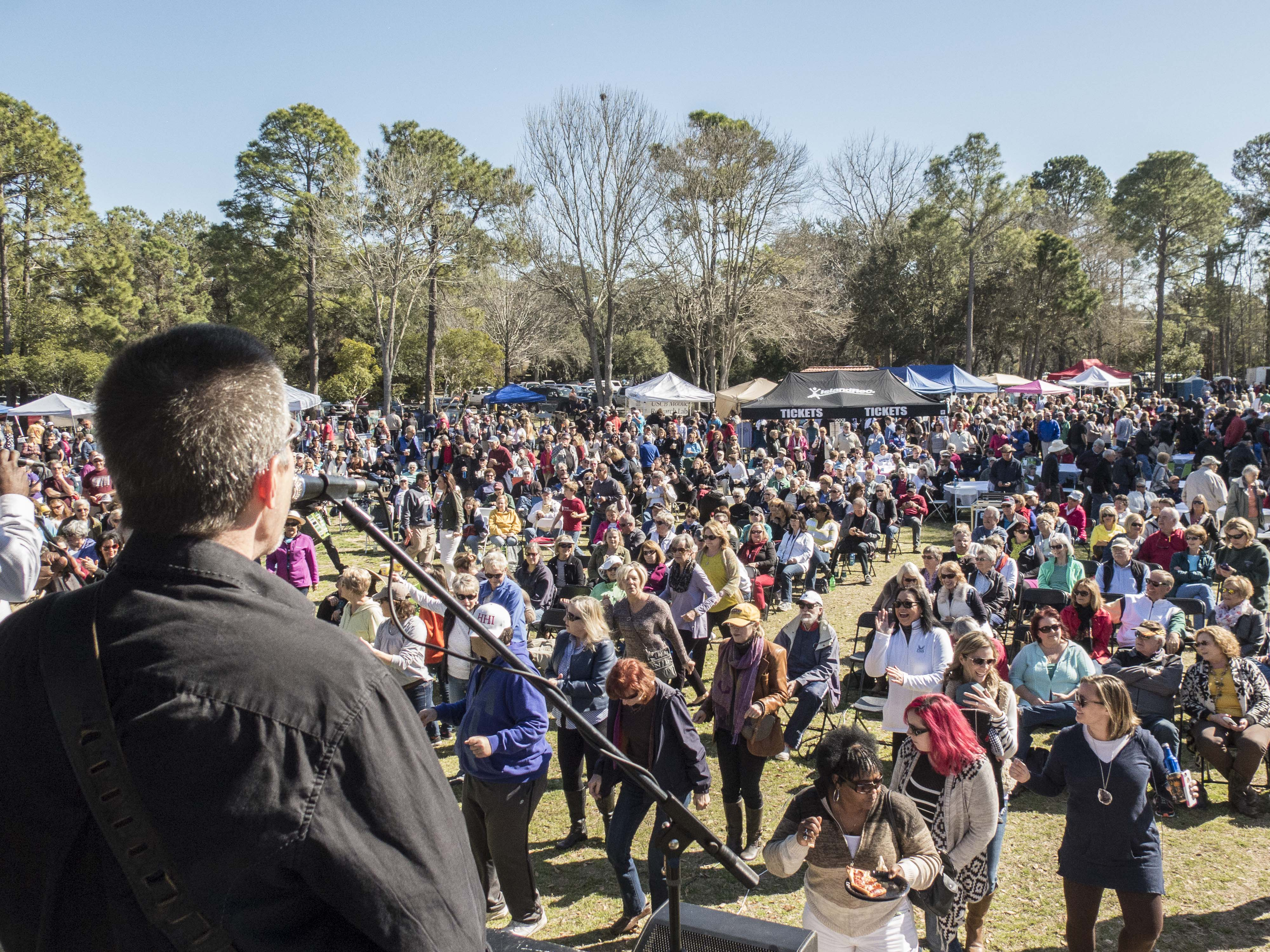 Saturday's main event at Shelter Cove Park is one of the biggest food events of the year