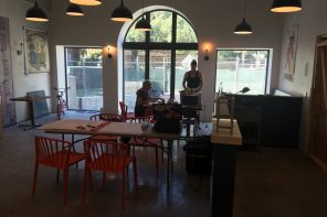 Atlantic's dining room will seat about 60 people