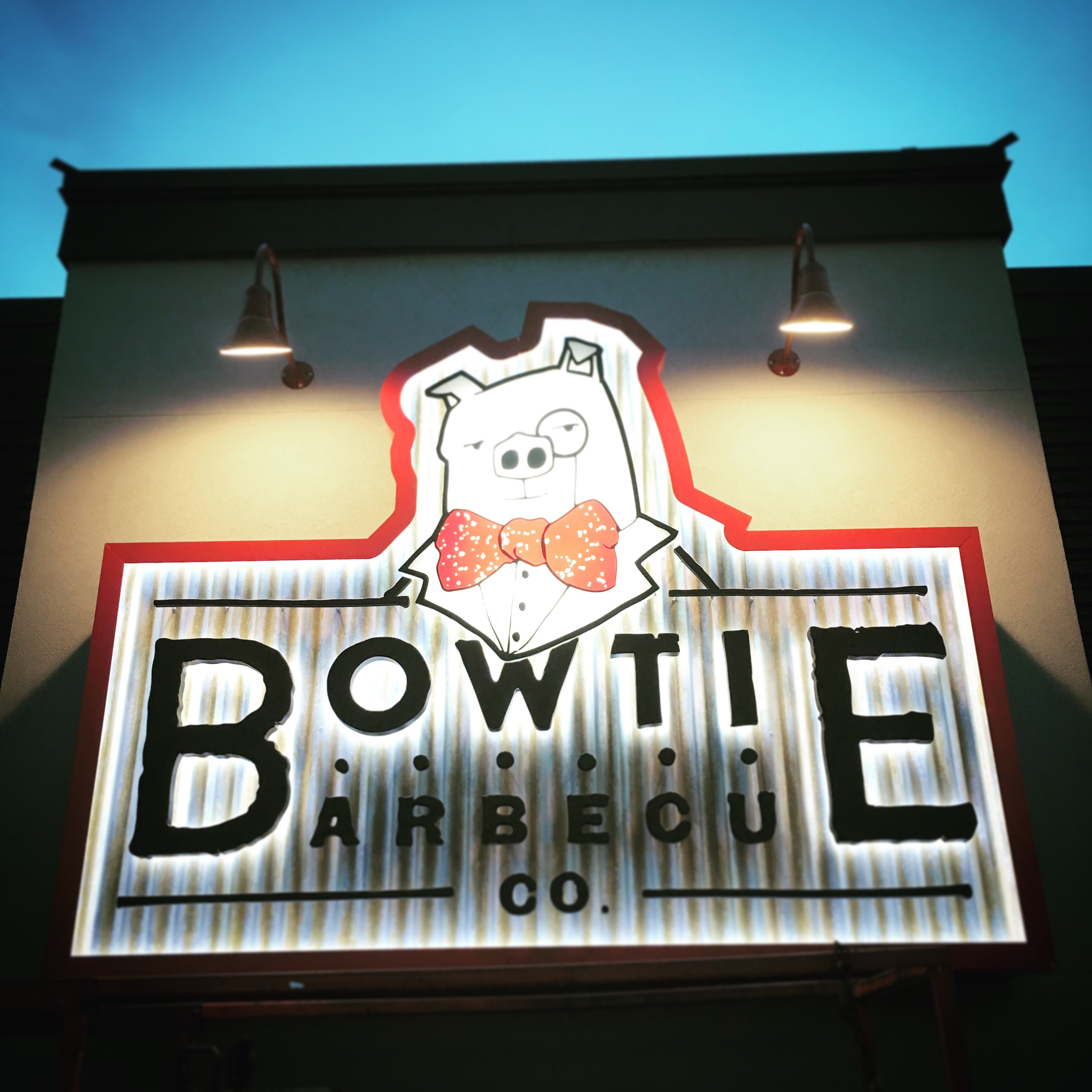 Bowtie BBQ Co. opened in September