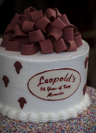 Cake is always part of the fun (Photo by Stephen B. Morton)