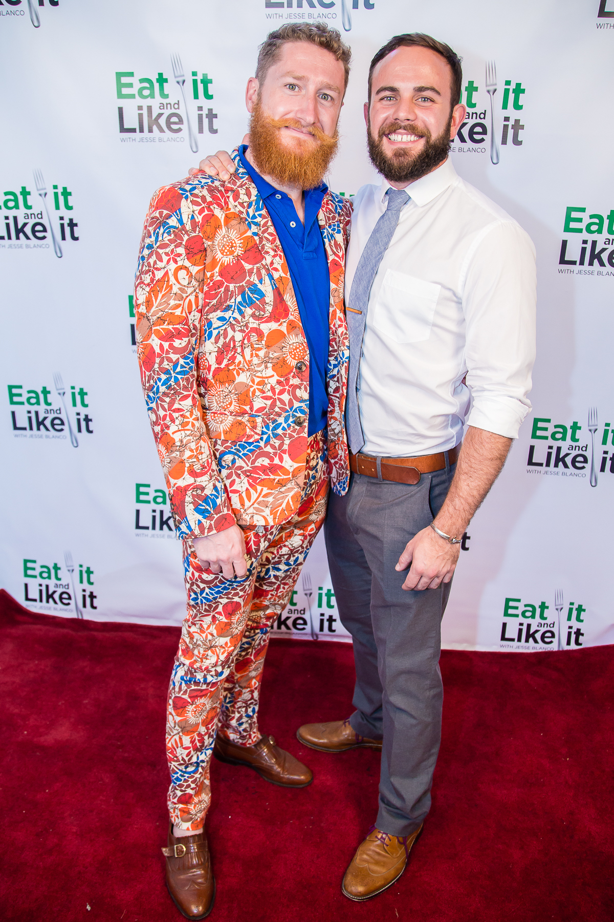 Scott Waldrup and Tart Johnson at Eat It and Like It Foodie Awards