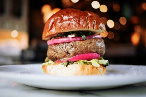 Burgers are a work of art