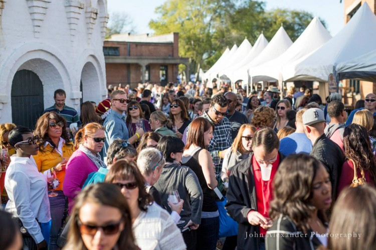 Taste of Savannah is one of the most popular events of the week.