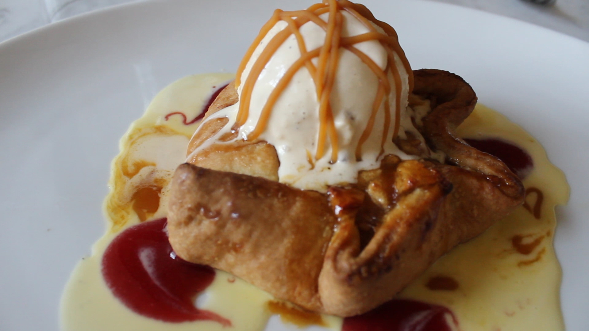 Warm Apple Tarte at 39 Rue de Jean is their answer to Southern but French