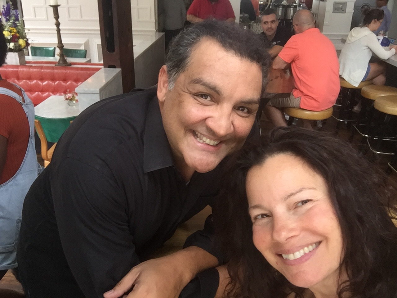 Fran Drescher was extremely pleasant in our short chat
