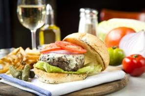 The Rue Burger is one of the more popular items at 39 Rue de Jean in Savannah
