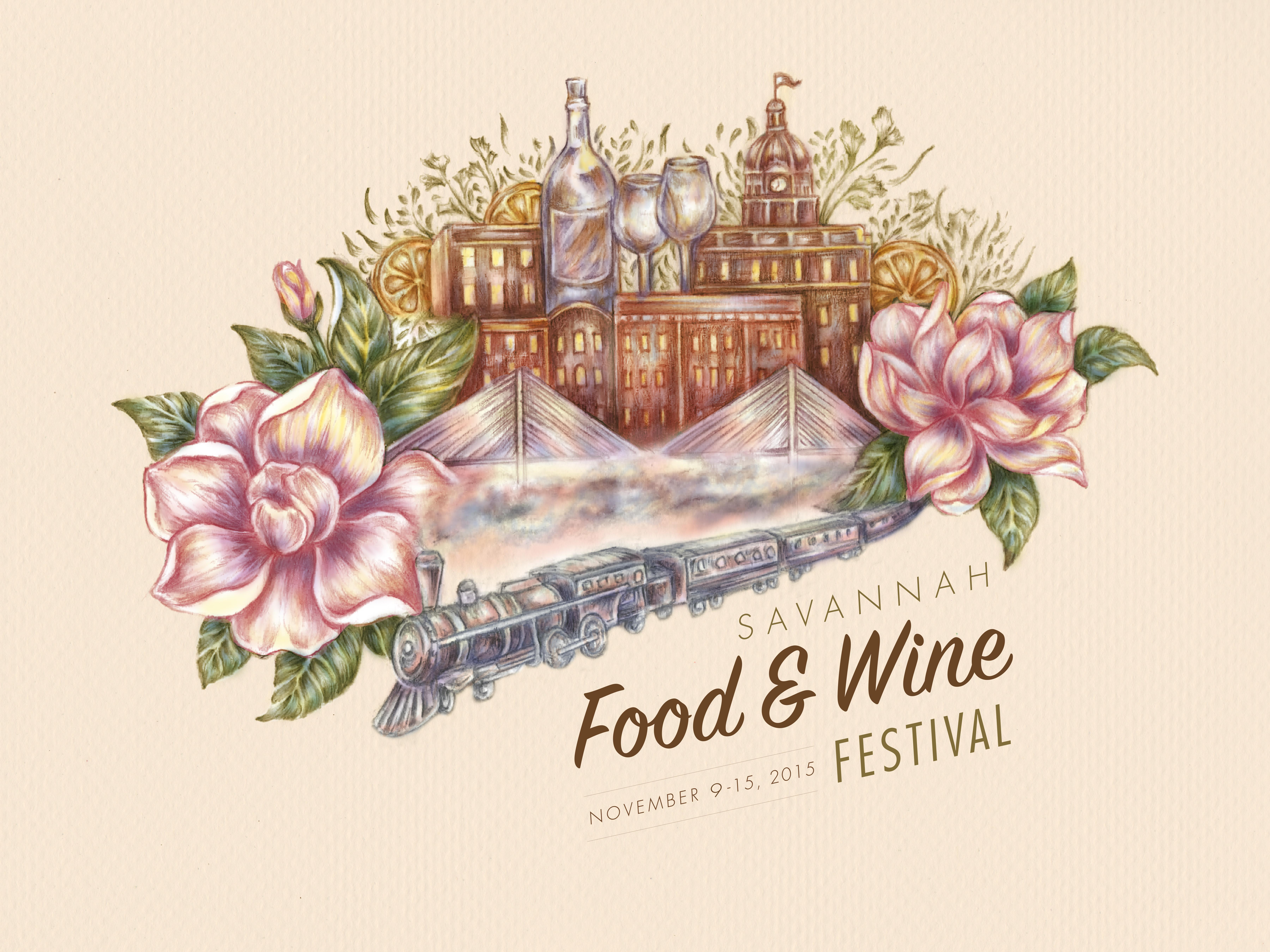 Savannah Food And Wine Festival Reveals 2015 Poster