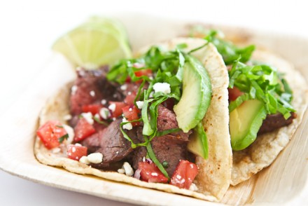 Grilled Marinated Flank Steak Tacos